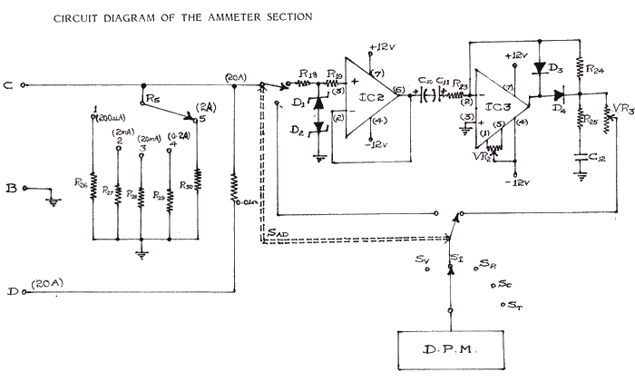 Surprising Ammeter Schematic Diagram Schematic Diagram Download Wiring 101 Taclepimsautoservicenl