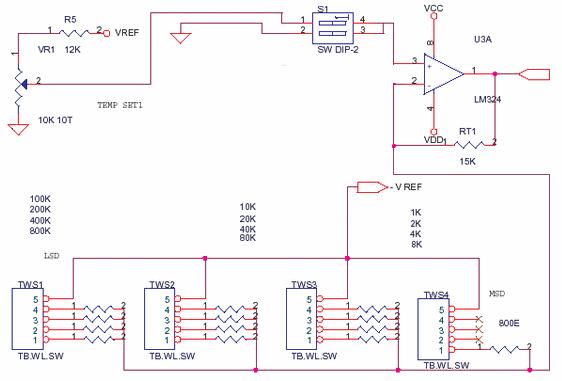 Analog Level by BCD Thumbwheel Switch