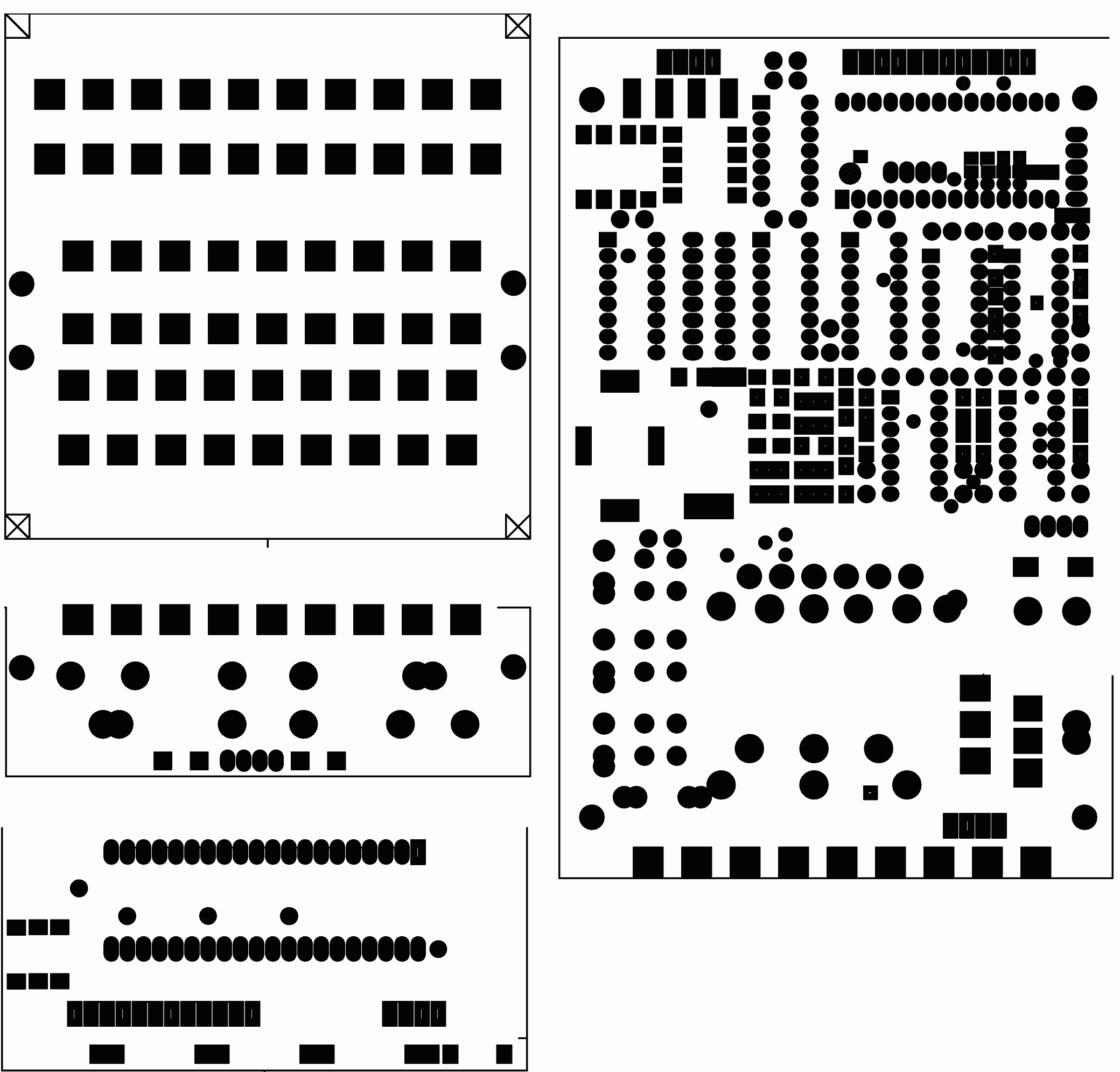 soldermans basic electronics  multiplexed presettable