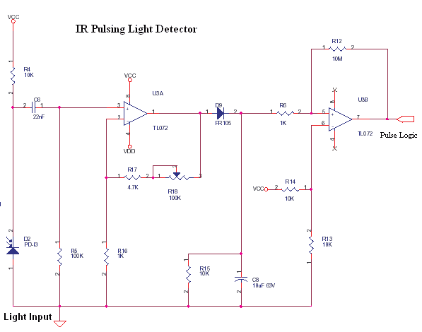Optical Proximity Switch - Detector