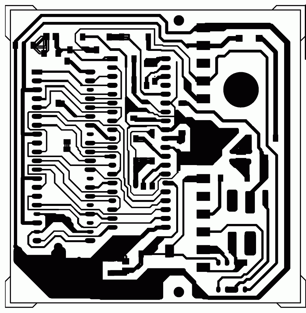 Delabs Schematics Electronic Circuits Designs And Circuit Diagram With Pcb Layout Tc Display Copper Side