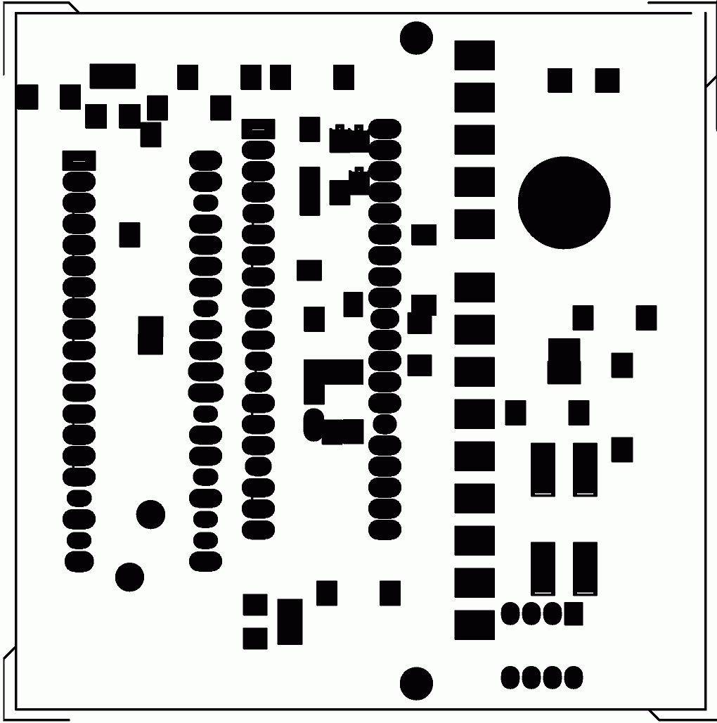 display icl7107 - temperature controller