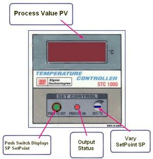 Temperature Controller - Front
