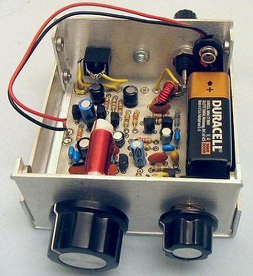 DC receiver designed by Wayne McFee
