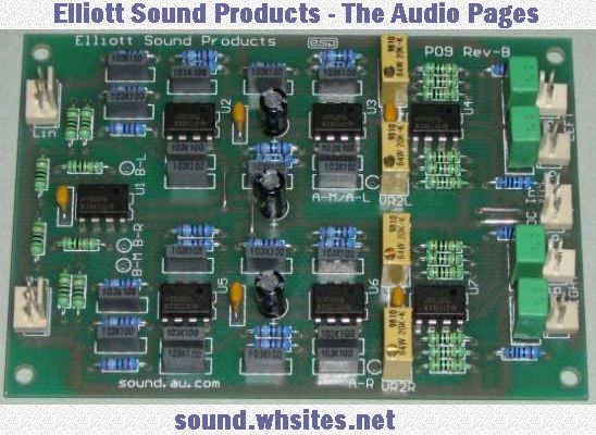 Elliott Sound Products - The Audio Pages