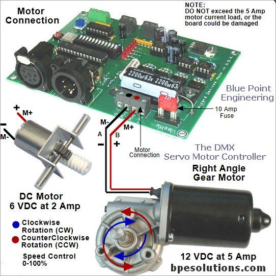 DMX Motor Controller - Blue Point Engineering