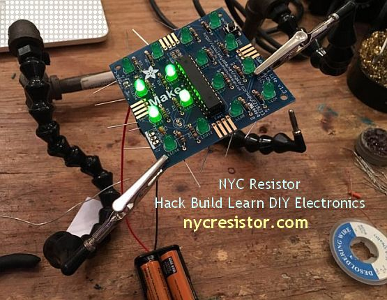 NYC Resistor - Hack Build Learn DIY Electronics