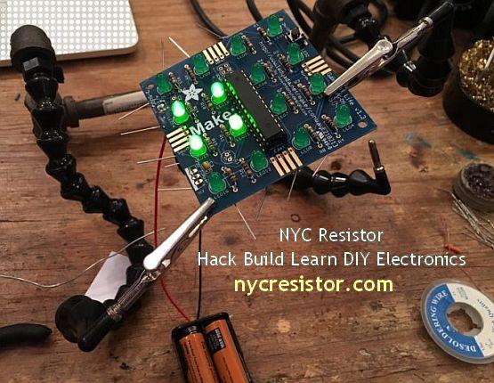 NYC Resistor - Hack Build Learn DIY Electronics