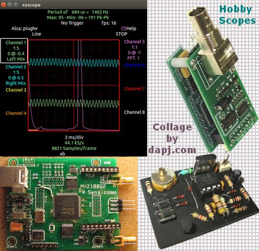OscilloScopes for the DIY Enthusiast