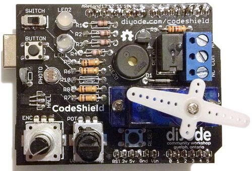 CodeShield for Arduino - Diyode