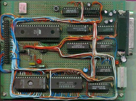 8052-basic-board-mast