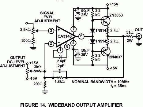 wideband-output-amp