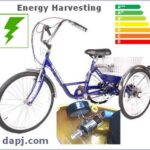 Supercap and White LED and Energy Harvesters