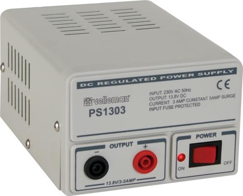 A Velleman Power Supply for the Test bench
