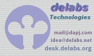 delabs Technologies Business Card