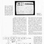 TV used as a Oscilloscope