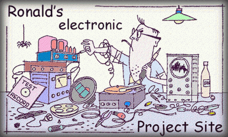 Hobby Hound - DIY Electronics: Electronic Projects of Ronald