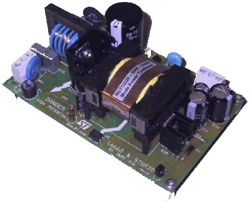 EVALSTSR30-60W: 60W AC-DC adapter